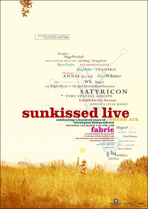 Sunkissed Live