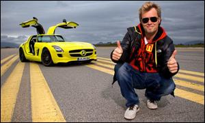 Mercedes Test Drive