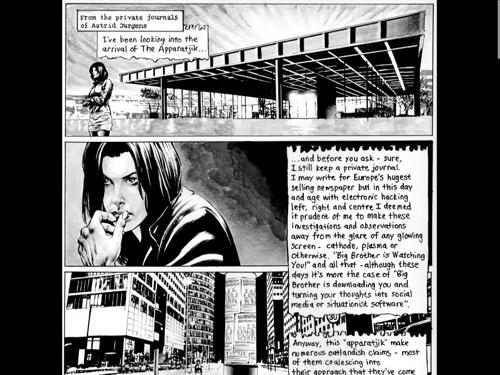 Apparatjik Comic
